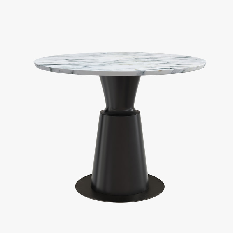 Peso Dining Table Pes0 Dt St 3d Model Turbosquid 1185545
