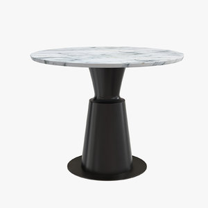 peso dining table pes0-dt-st 3D model