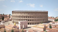 Roman Colosseum High detailed