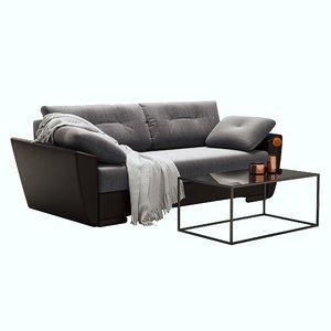 3D sofa amsterdam model