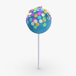3D cake-pops---blue-large-sprinkles model