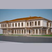 3D modern turkish house