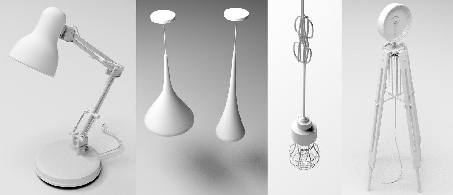lighting 4 pack 3D