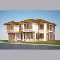 3D modern turkish house