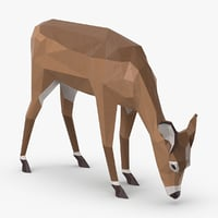 doe---eating 3D
