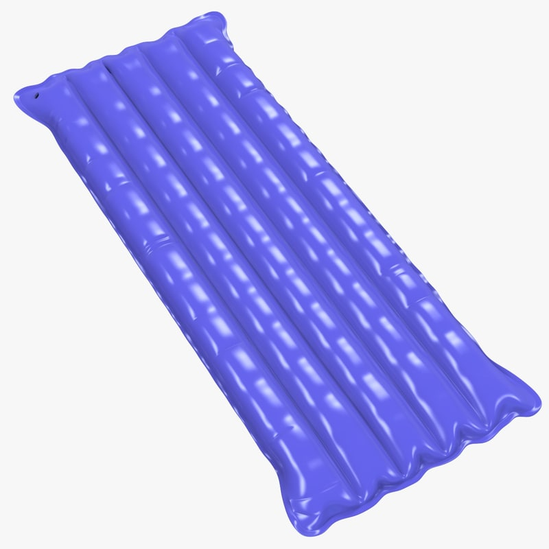 3D inflatable mattress model