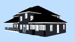 house external 3D