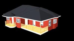 house modern 3D