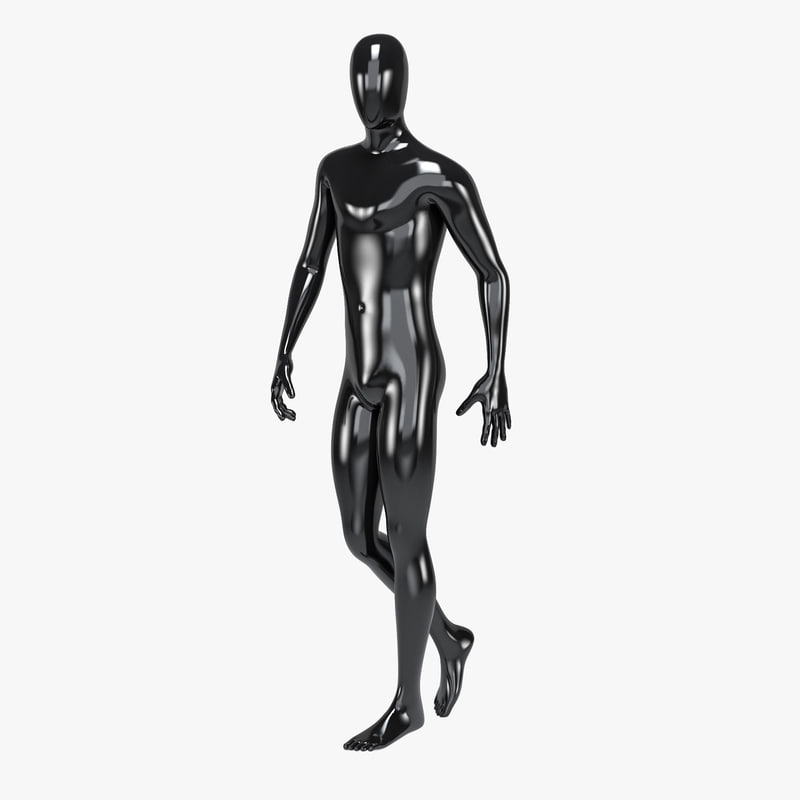 male mannequin 3D model