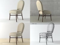 3D nuova chair m-228 model