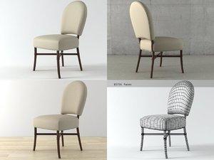 3D nuova chair m-228 model