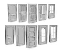 3D model 49 type doors