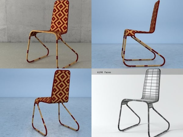 3D flo chair b