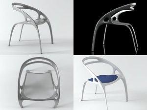 3D chair danerka model