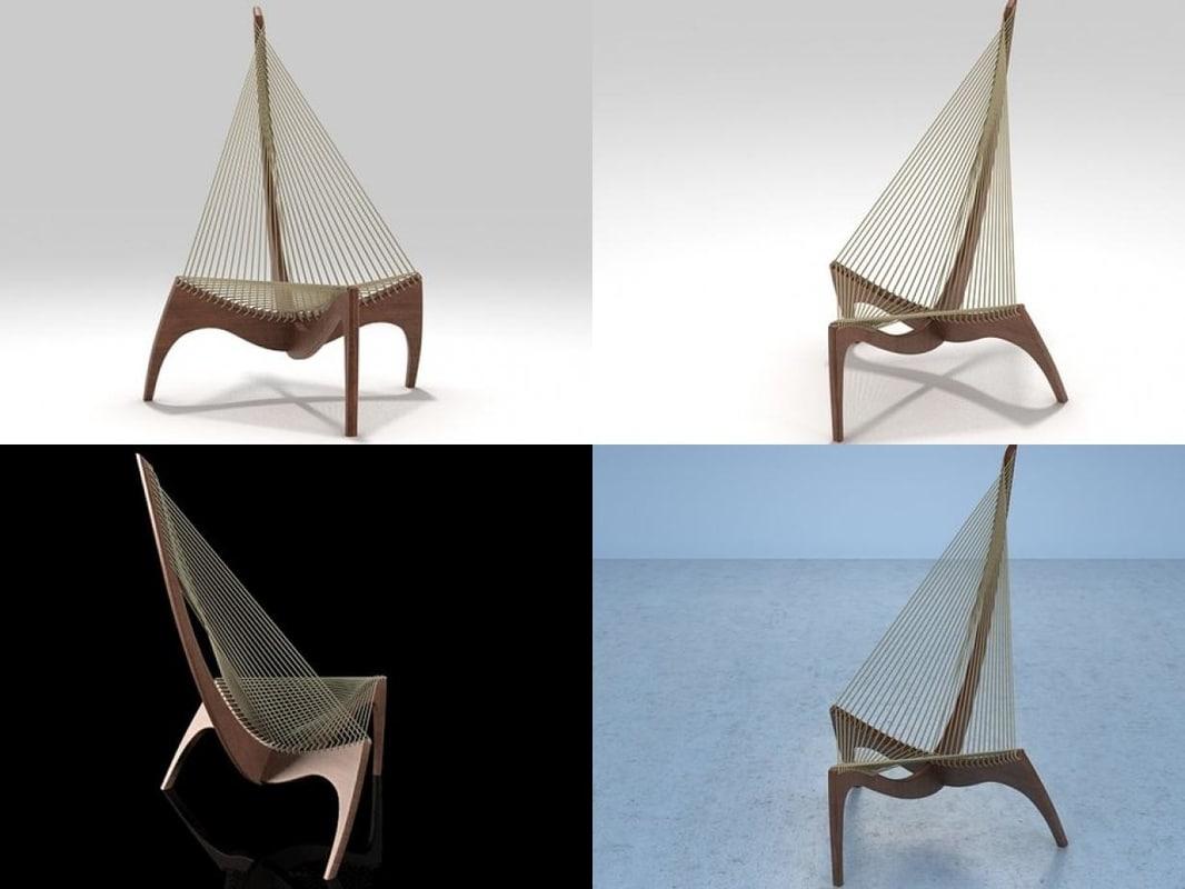 3D harp