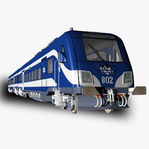 siemens viaggio light passenger train model