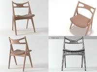 3D ch29 sawhorse chair