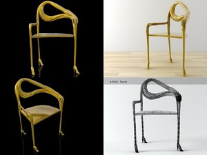 3D leda chair