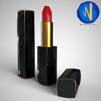 3D lips lipstic model