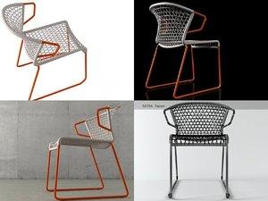 v chair 3D model