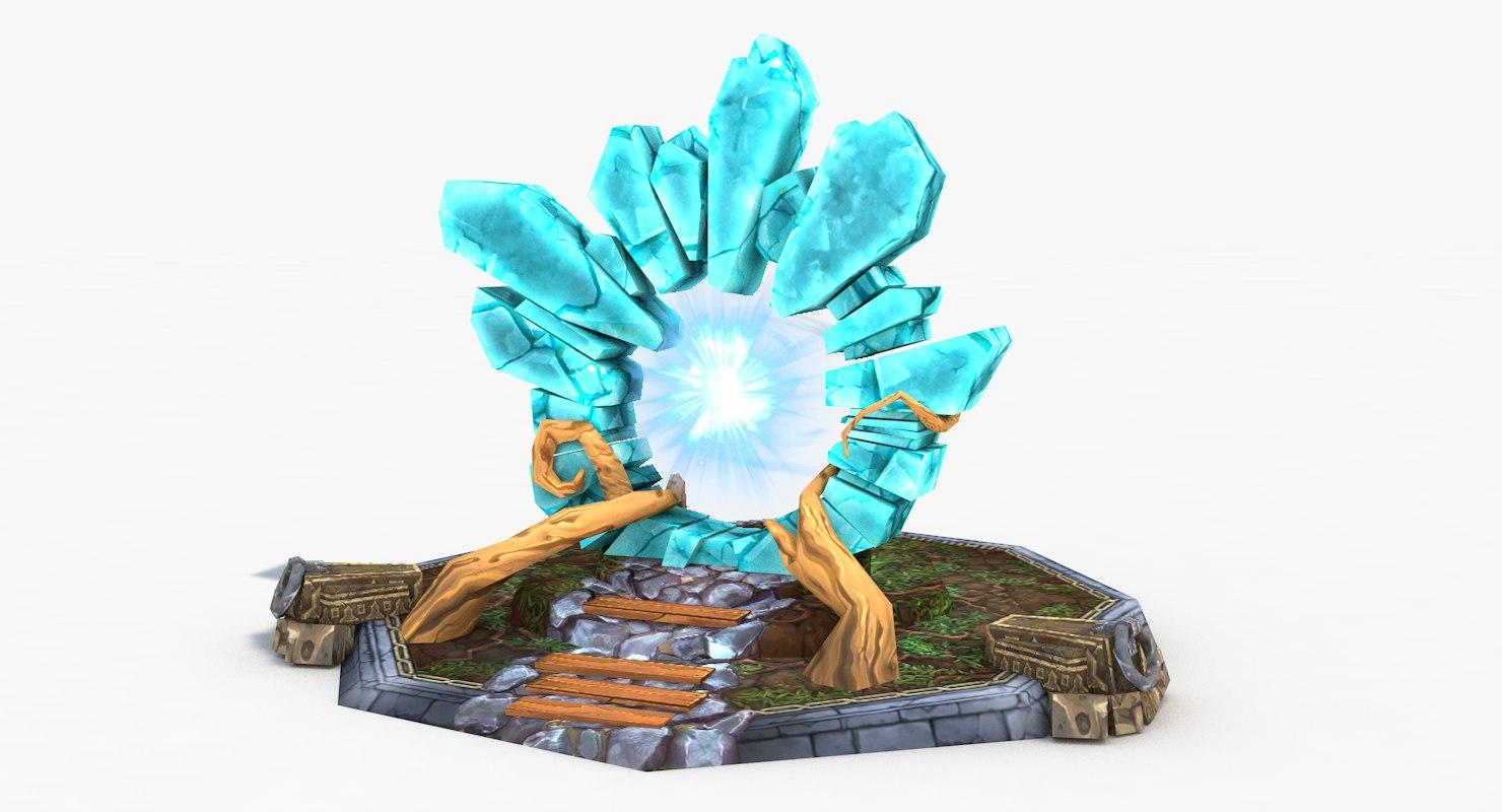 3D old portal