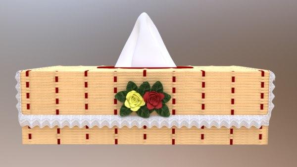 3D model bamboo case