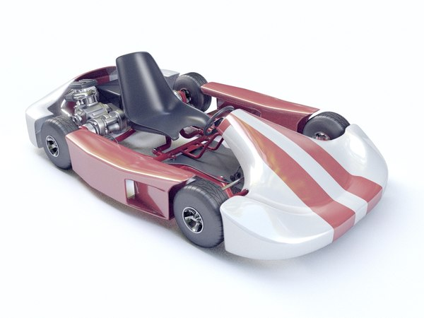 kart go-kart racing model