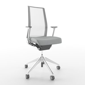 3D haworth task chair model