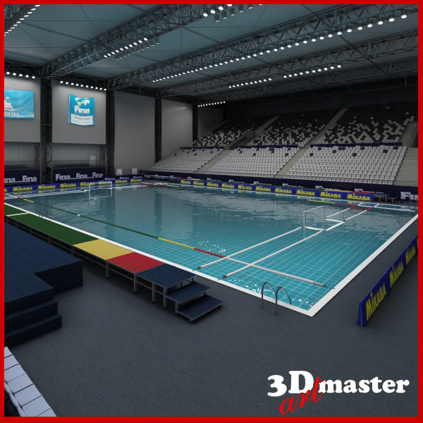 water polo arena 3D