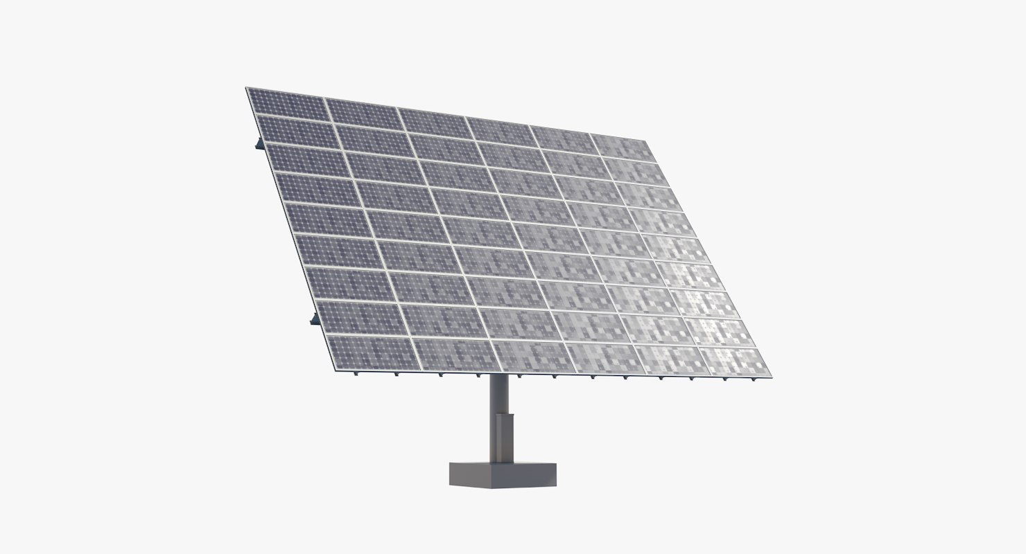 3D mobile solar panel