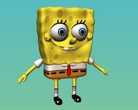 3D spanch bob square