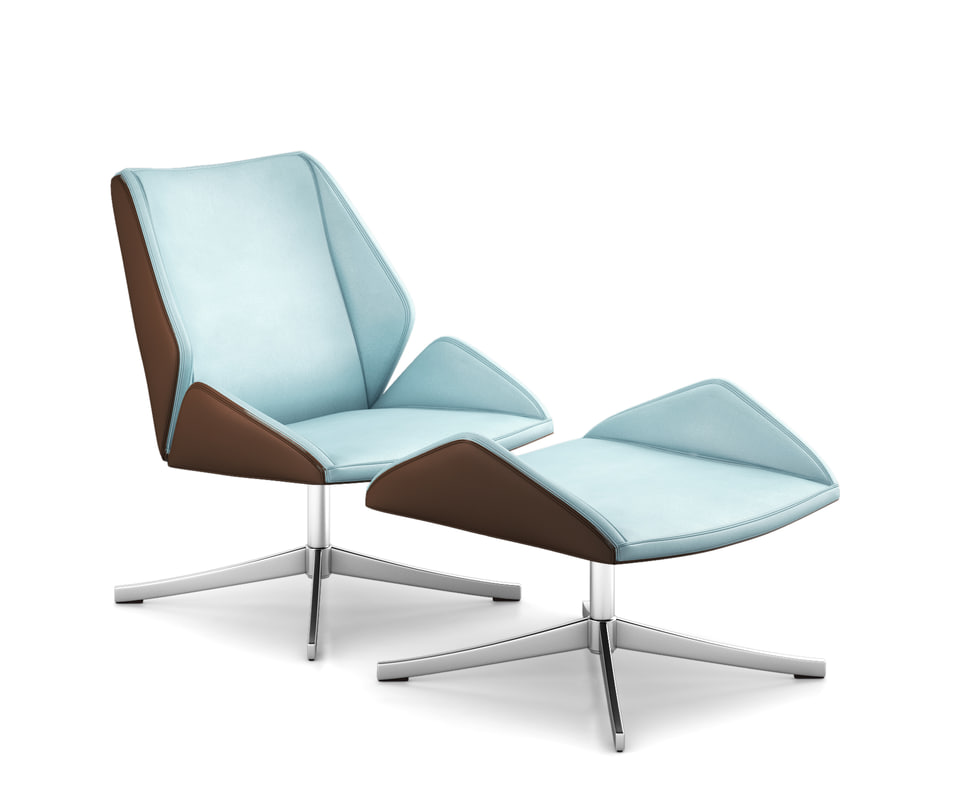 4 executive chair 3D model