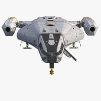 Sci-Fi Scout Spaceship