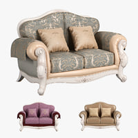 carpenter 230 sofa c 3D model