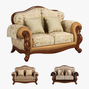 carpenter 230-1 sofa c 3D