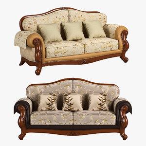 230-1 carpenter sofa c 3D