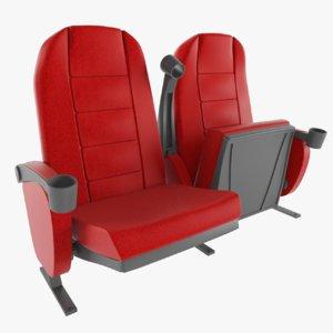 3D chair armrest