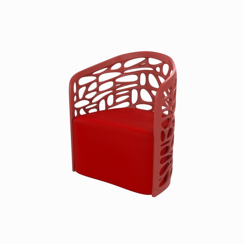 concept chair 3D model