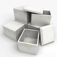 polyfoam boxes model