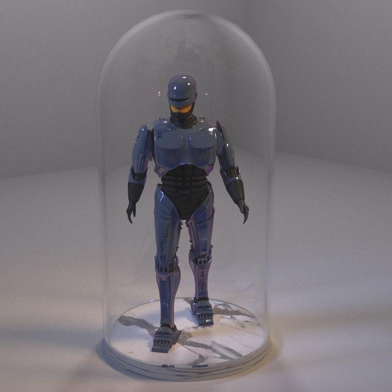 3D robocop model