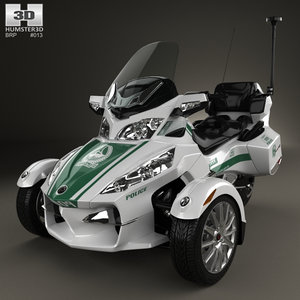 3D model brp can-am spyder