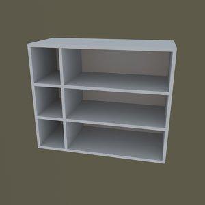 shoe rack 3D model
