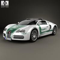 Bugatti Veyron Police Dubai 2014