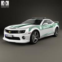 3D chevrolet camaro 2013 model