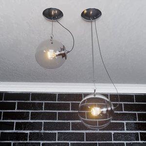 italian pendant light artemide model