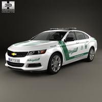 3D model chevrolet impala 2014