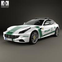 ff 2013 ferrari 3D model