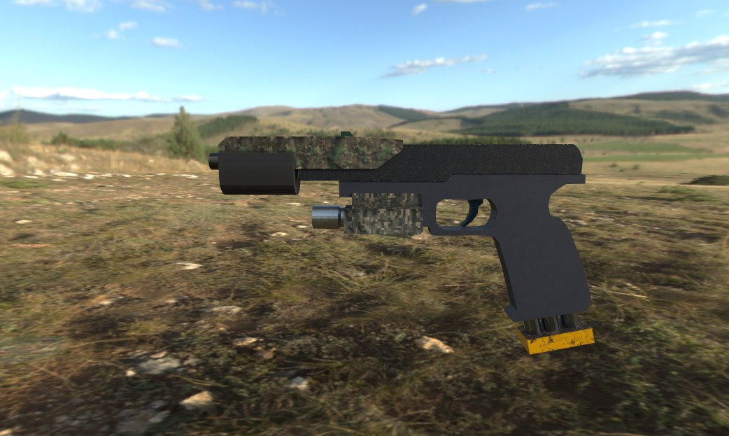 3D pistols