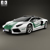 lamborghini aventador 2013 3D model