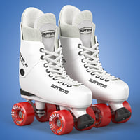 3D roller skates supreme turbo